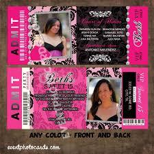 free printable quinceanera invitation ticket u2013 orderecigsjuice info