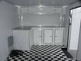 V Nose Enclosed Trailer Cabinets by Champion Enclosed Car Trailersmiddleboro Trailer Sales