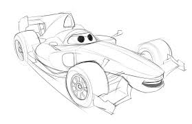 drawing of cars 2 finn cars 2 how to draw finn from cars 2