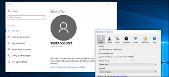 dropbox windows how to use multiple dropbox accounts on one pc