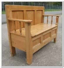 6 Foot Storage Bench Pine Storage Benches Foter