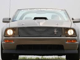 Black 2009 Mustang 2005 2009 Mustang Cdc V6 Black Upper Billet Grille