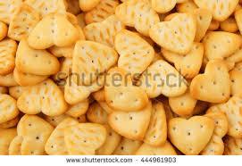 heart shaped crackers heart shaped crackers background stock photo 140612884