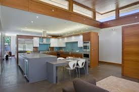 gorgeous wheeler residence open kitchen plan arranged inside l