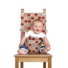 chaise nomade bébé totseat apple achat vente chaise haute