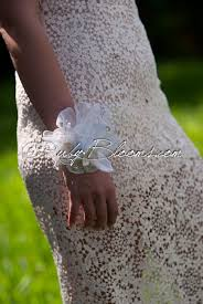 white orchid corsage white orchid prom wedding wrist brooch bracelet by ruby blooms