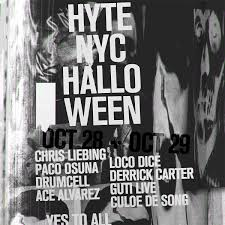halloween party in new york city ra hyte nyc halloween at tba brooklyn new york 2016