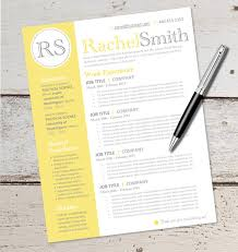 Resumes Templates Microsoft Word Instant Download Resume Design Template Microsoft Word
