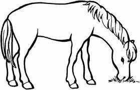 coloriage cheval chevaux 6 à colorier allofamille
