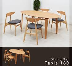 takara21 rakuten global market oval table width 180 cm dining 5