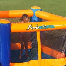 park inflatable games water slide bounce house backyard pool big