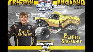 bjcc monster truck show 2017 doubledown showdown winner earth shaker youtube