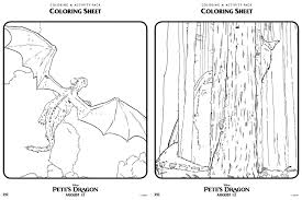 pete u0027s dragon coloring pages fancy shanty