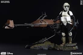 wars scout trooper sixth scale figure by sideshow colle
