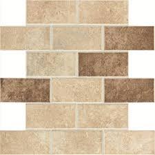 Home Depot Bathroom Floor Tiles Marazzi Developed By Nature Calacatta 12 In X 14 In X 6 Mm