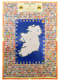 family crest maps of ireland u2013 privatmark ie