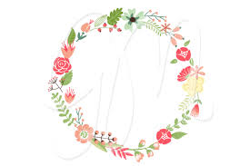 flower wreath free flower wreath clipart image 17156 floral wreath clipart