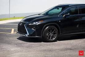 lexus suvs custom wheels help this lexus rx transition to the dark side