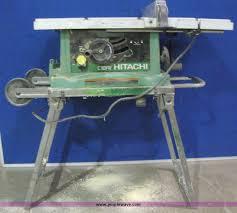 hitachi table saw price item 3771 sold october 2 manhattan ks auction purp