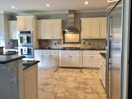white antiqued kitchen cabinets antique white kitchen cabinet makeover general finishes