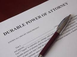 Durable Power Of Attorney Document by Durable Power Of Attorney Georgia