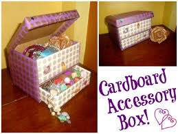 Decorate Cardboard Box Diy Cardboard Accessory Box 5 Steps