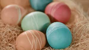 Decorating Easter Eggs With Lace by Creative Ways To Dye Easter Eggs From Better Homes And Gardens