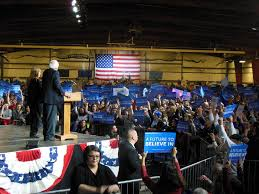 sanders holds super tuesday rally in home state of vermont wamc