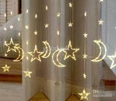 wholesale curtain light buy warm white led moon lights