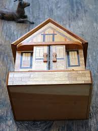 Secret Compartments In Wooden Japanese - japanese puzzle box house bank by professortiny on etsy boxes 3