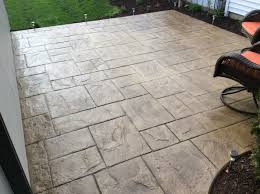 Colored Concrete Patio Pictures Wauwatosa Decorated Patio Hales Corners Stamped Concrete