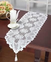 decor glitter table runner dining table runner lace table runners