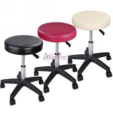 Roller Massage Table by Hydraulic Adjustable Tattoo Salon Rolling Stool Chair Massage Spa