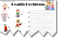 health worksheets medical word searches board games health