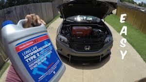 honda accord radiator fluid how to flush your radiator coolant 2015 honda accord