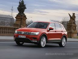 volkswagen tiguan 2016 red first drive 2017 volkswagen tiguan in germany drive arabia