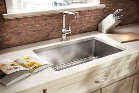 Best Gauge For Kitchen Sink by Stylish Stainless Steel Undermount Sink Kraus 32 Inch Undermount