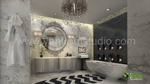 artstation modern 3d bathroom interior design rendering brazil