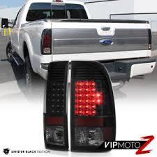 2016 f350 tail lights sinister black 2008 2016 ford f250 f350 led rear brake tail lights