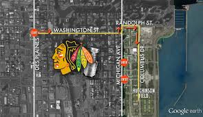 Map To Chicago by Blackhawks Parade Details Chicago Tonight Wttw