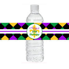 personalized mardi gras personalized mardi gras water labels printable mardi gras