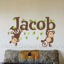 Wall Name Decals For Nursery Name Wall Decals Ebay