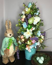 Flower Pros - how to make a designer easter egg topiary like the pros southern