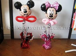 mickey mouse balloon arrangements balloons on the run party decorations r us balloon centerpieces
