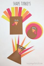 shape turkey simple toddler activity that helps with shape