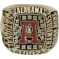 alabama class ring 43 best college rings images on chionship rings