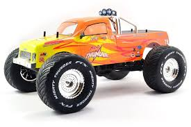 ftx mighty thunder 4wd rtr terrain rc monster truck red