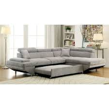 modern u0026 contemporary fold out couch allmodern
