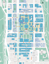 Cornell Campus Map Visitor Information Columbia Chemistry