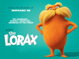 lorax coloring book the lorax voice by danny devito the lorax is guardian for the